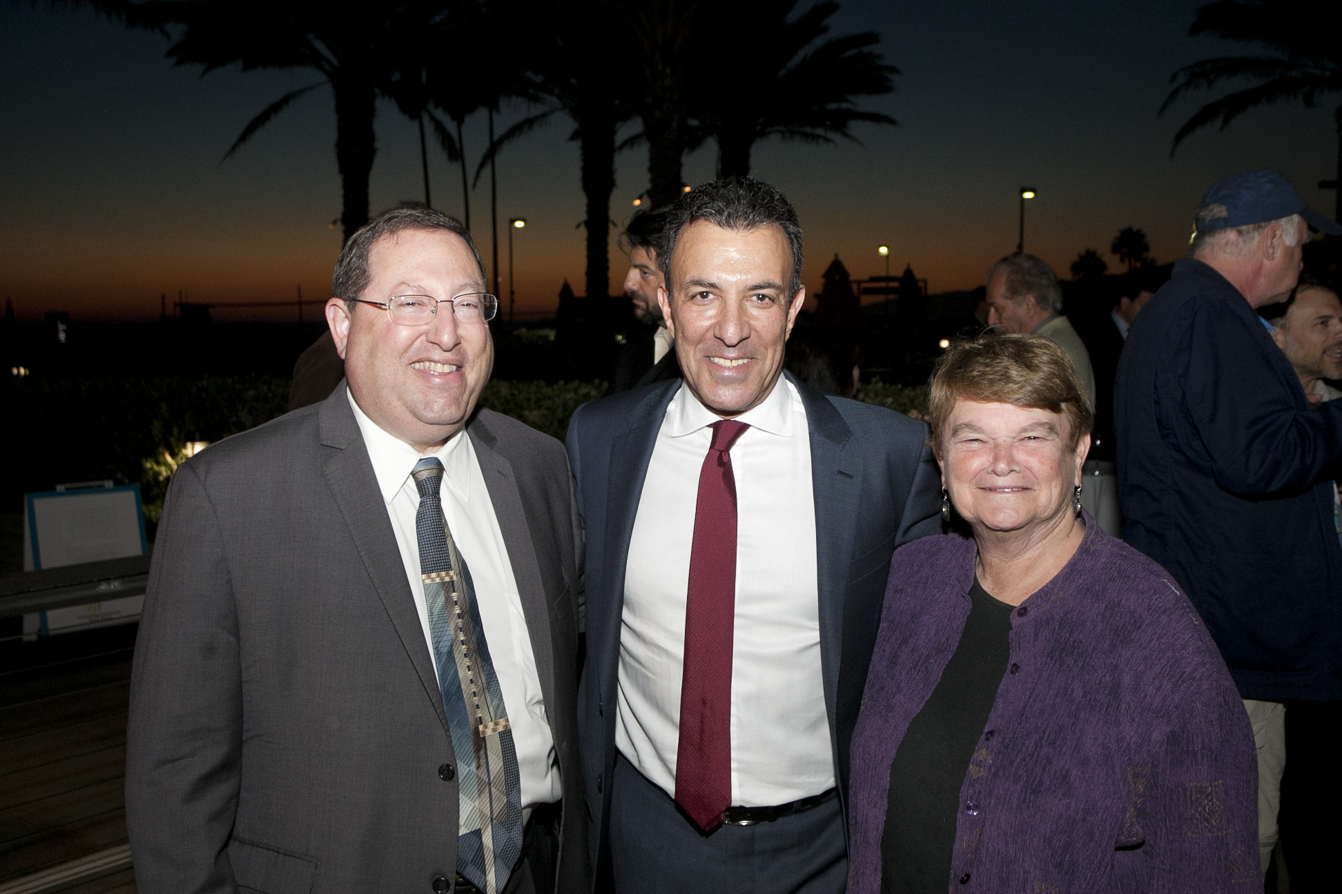 Councilman Paul Koretz, David Nahai, Sheila Kuehl