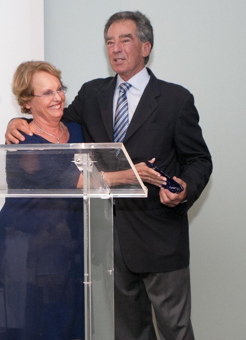 Fran Diamond, Honoree Mel Levine
