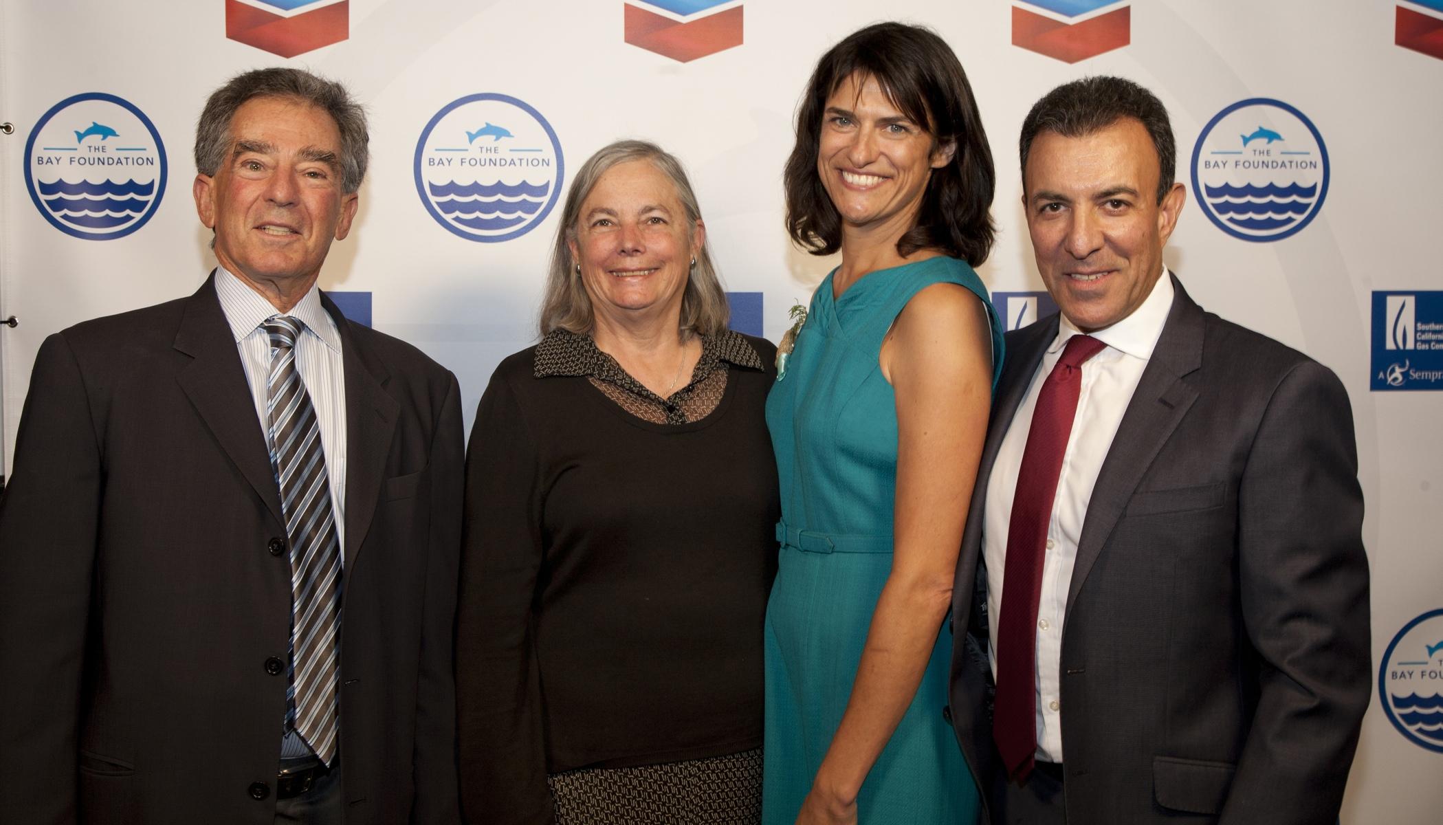 Mel Levine, Senator Fran Pavley, Shelley Luce, David Nahai