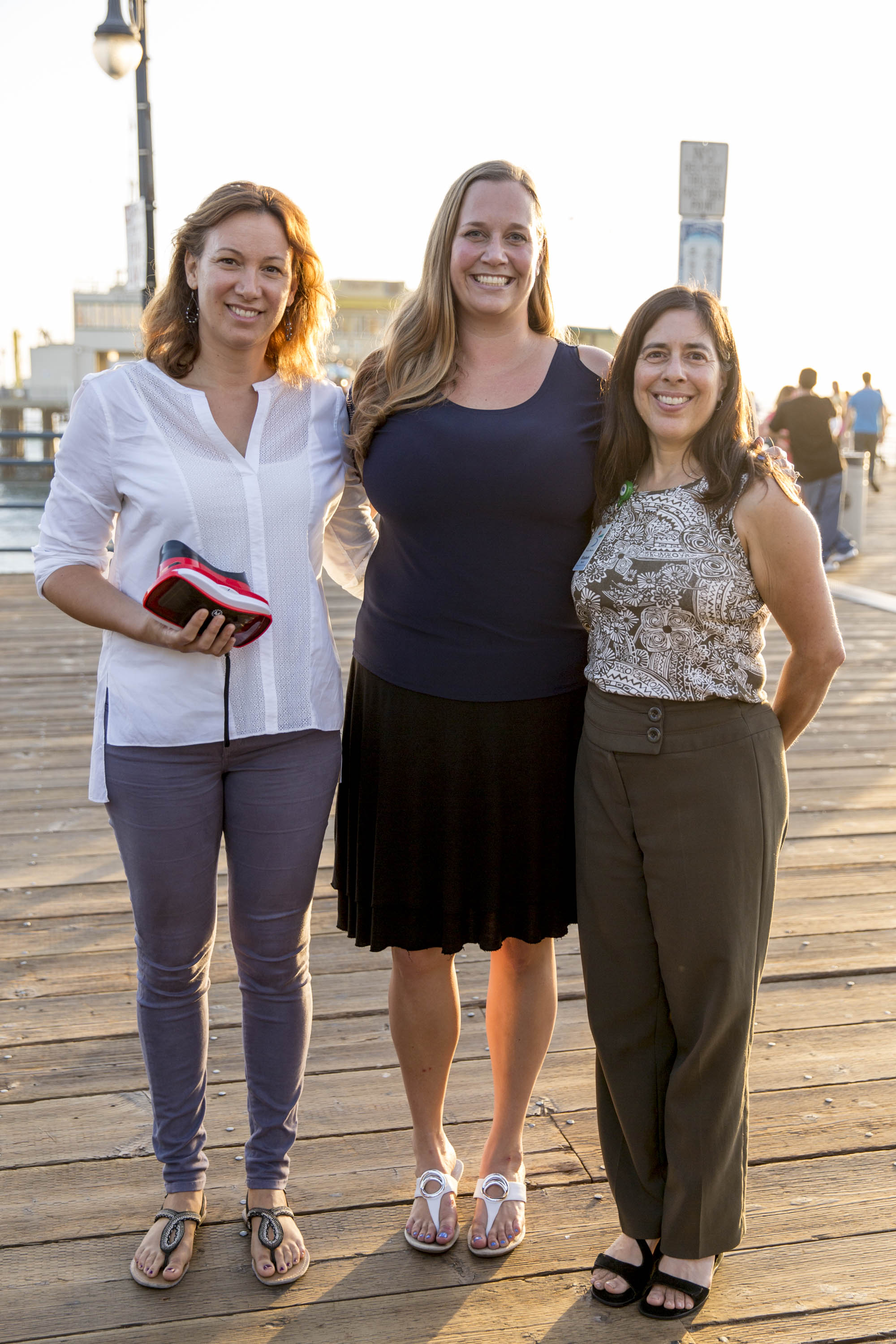 Juliette Finzi Hart, U.S. Geological Survey; Karina Johnston, TBF Dir. of Watershed Programs ; Elizabeth Bar-El, Sr. Planner for City of Santa Monica