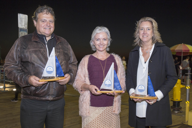 Honorees: Terranea Resort's Chef Bernard Ibarra, Beth Ryan, Leslie Iwerks