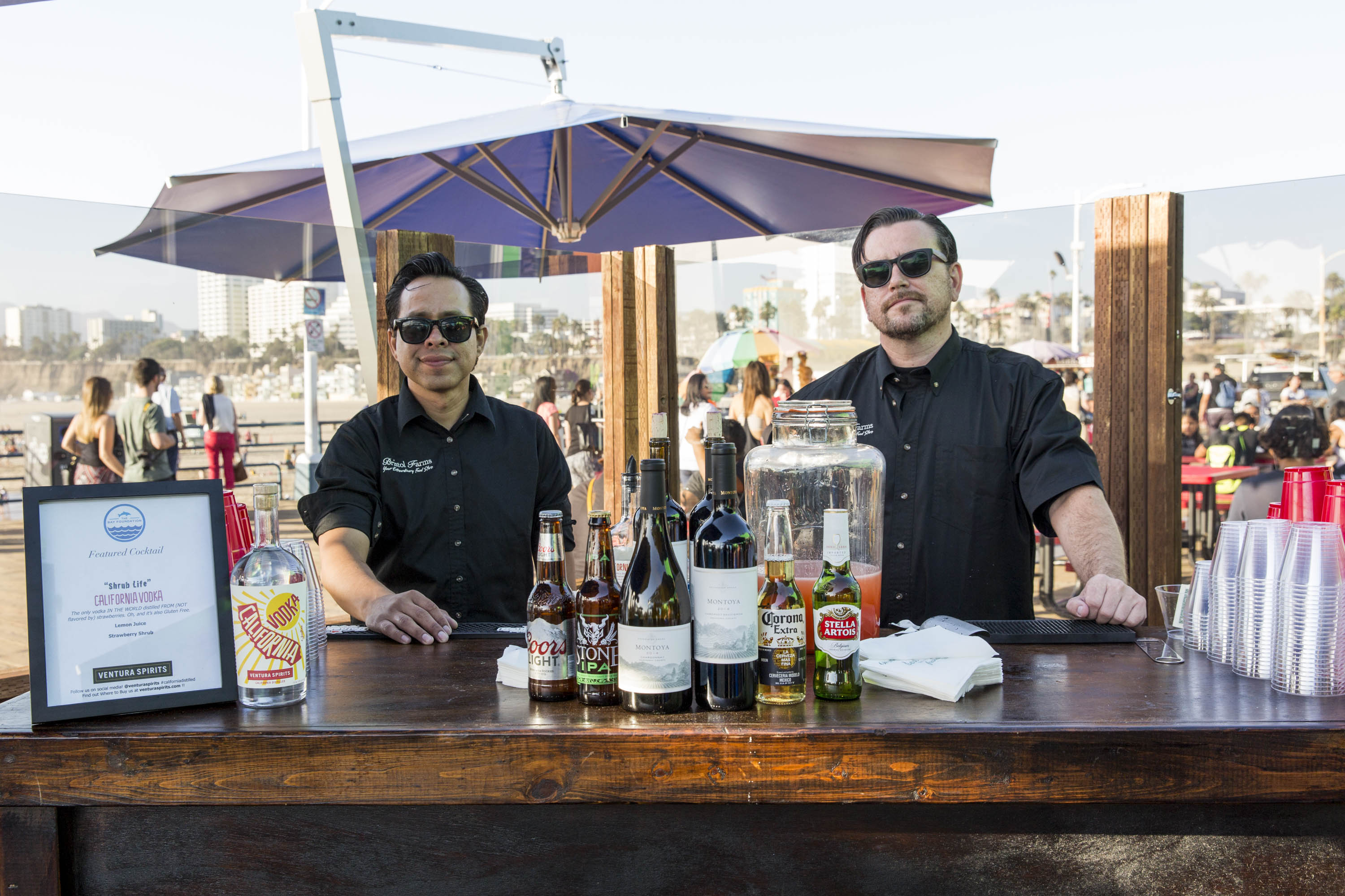 Enjoy a beverage, and thanks to Ventura Spirits