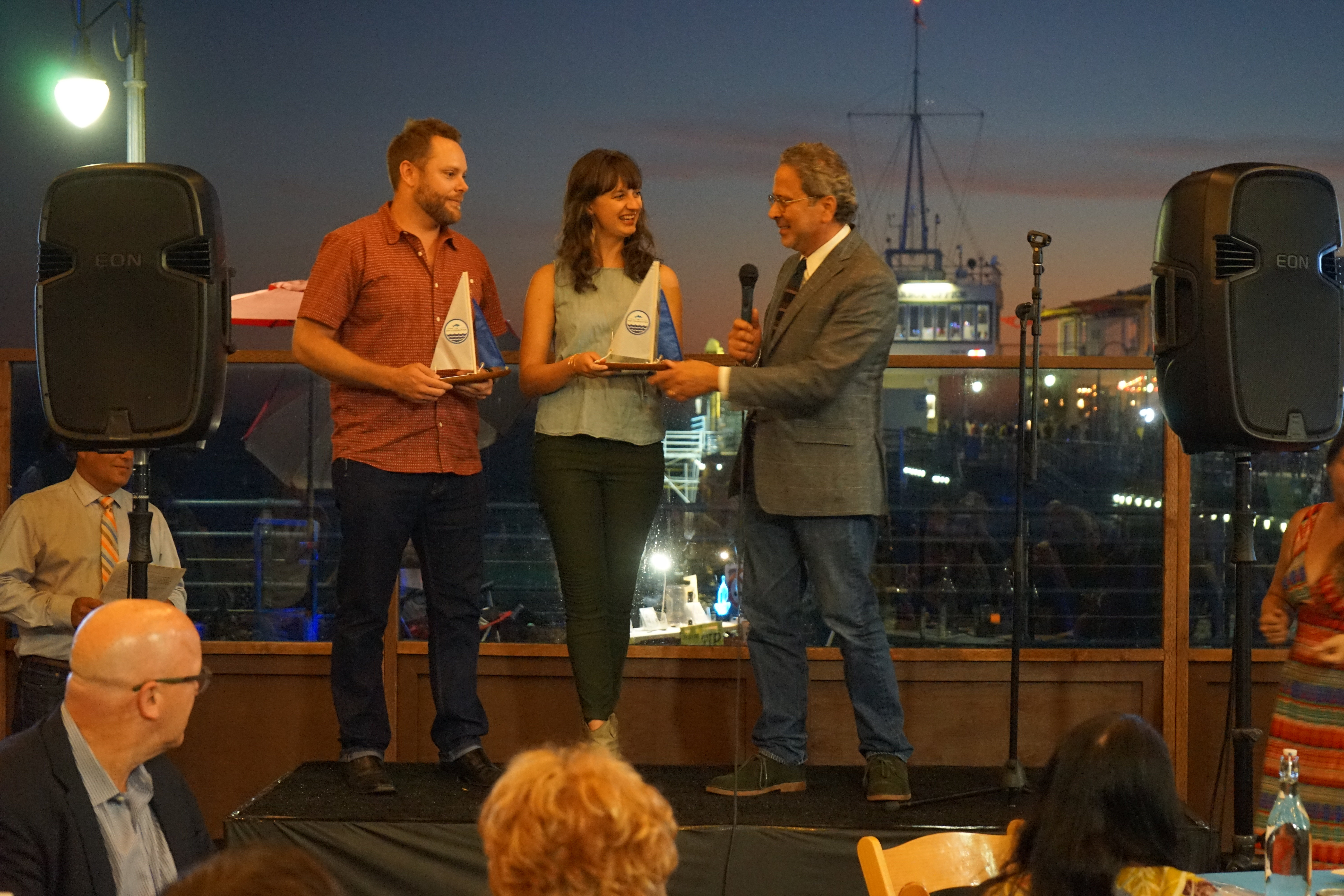 Patagonia Honorees accept awards