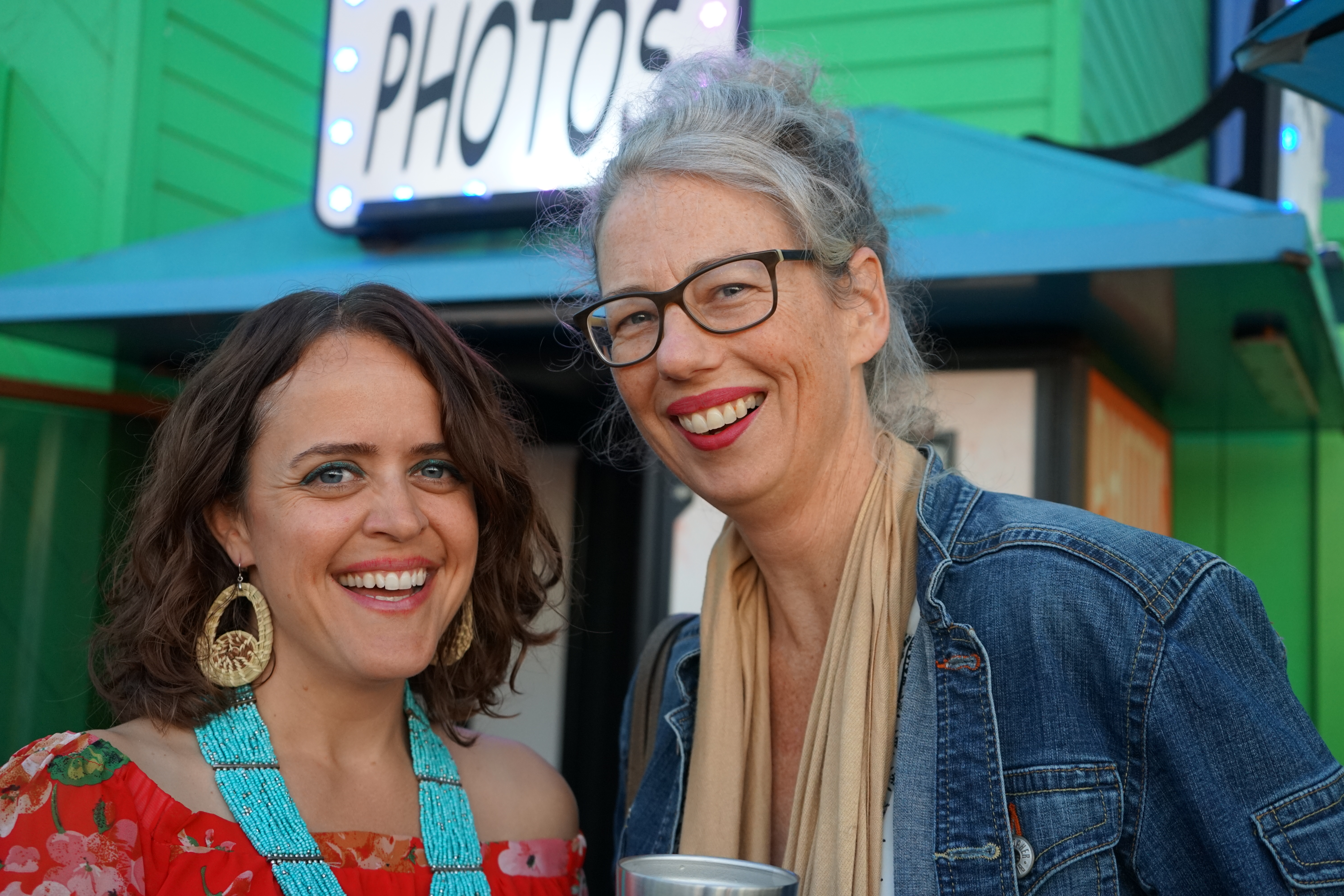 Jessica Aldridge of Athens Services, Meredith McCarthy of Heal the Bay