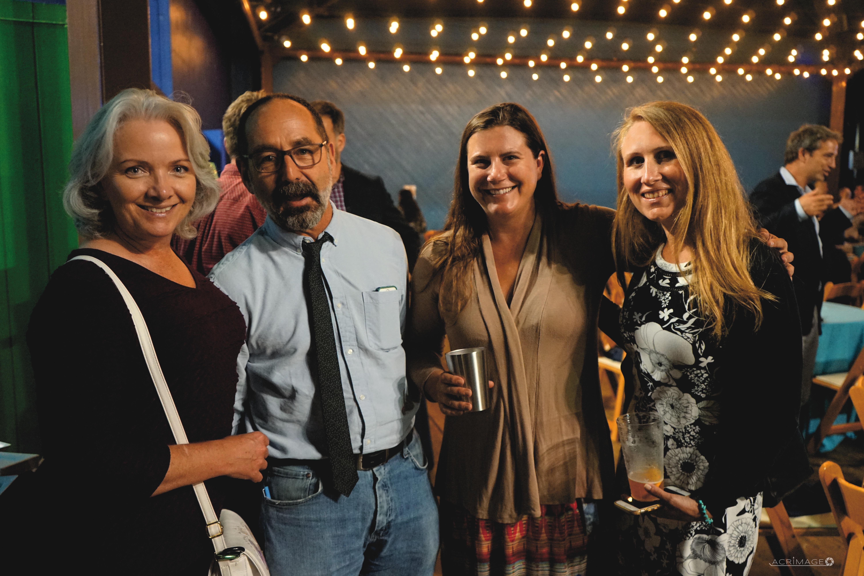 Beth Ryan (2016 Honoree), District Director Tim Pershing, TBF's Heather Burdick, Brandyn Keating