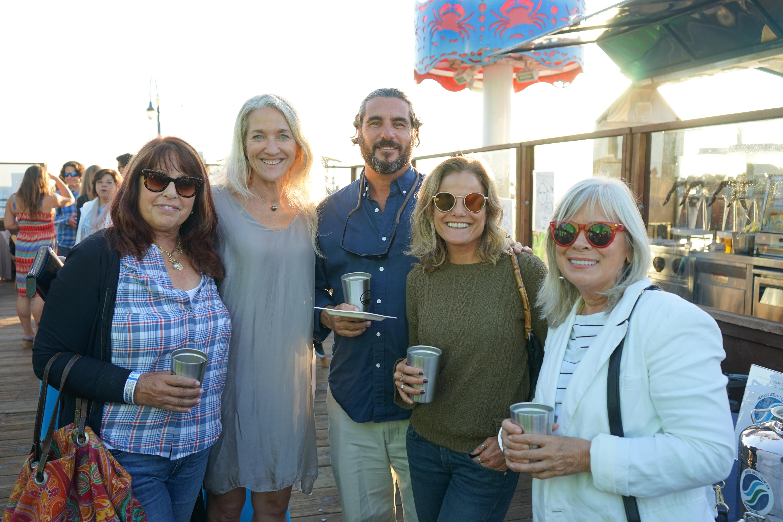 Diane Spielberger, TBF Board Member Laura Doss-Hertz, David Hertz, Jessica Immediato, Jenelle Krissel
